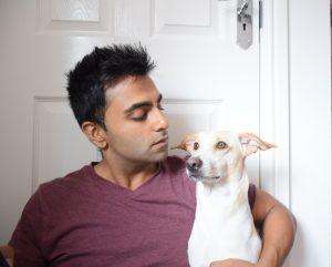 Kunal and I